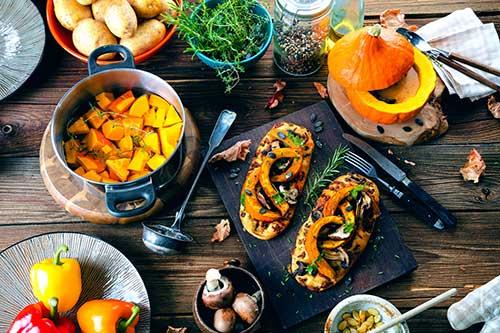 Pumpkin foods